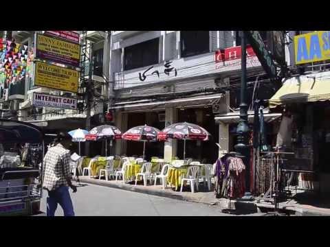 Khao San Road Thailand, Saturday morning