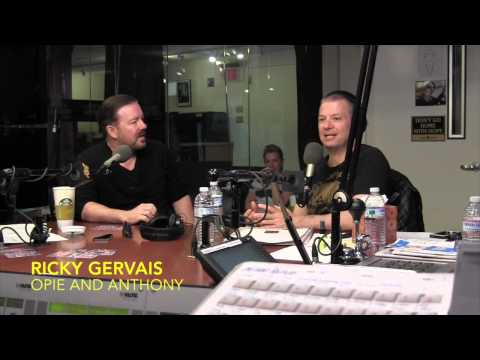 Ricky Gervais talks Atheism and Religion - Opie and Anthony
