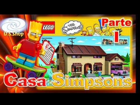 ✳️ LEGO The Simpsons House Review LEGO en Español I/2 Set 71006