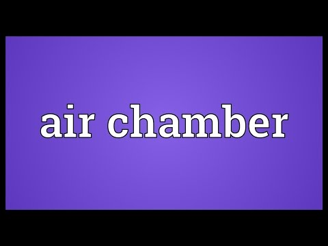 Header of air chamber