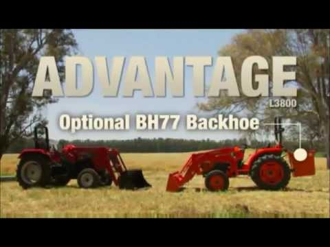 L3800 vs  Mahindra 4025   You Tube 2