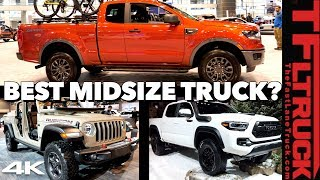 2020 Toyota Tacoma vs Ford Ranger vs Jeep Gladiator - This OR That Truck? Ep.1