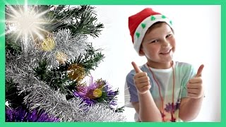 KIDS CHRISTMAS TREE DECORATING - Peppa Pig, Frozen, Disney Princess and more!!