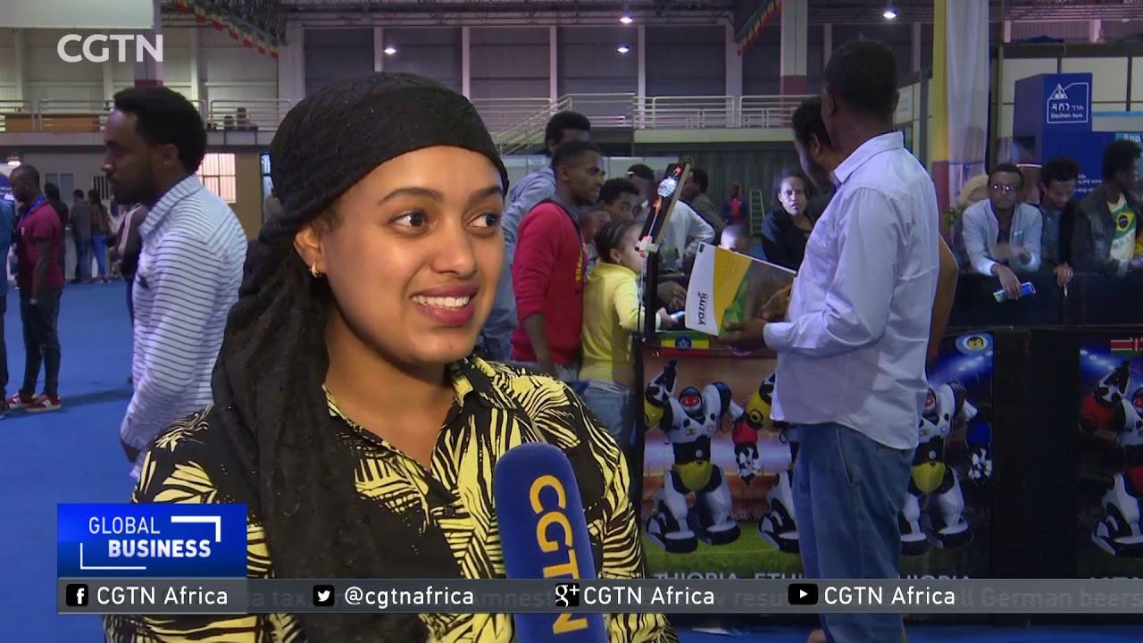 CGTN: Sophia The Robot on Tour in Ethiopia