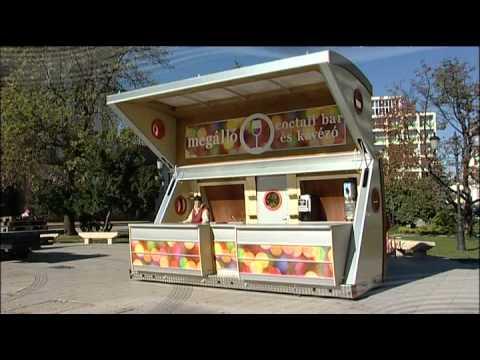 Otto Mobil Mobile Portable Container Bar Kiosk Youtube