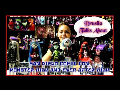 Drusila Talks About 2014 San Diego Comic Con Monster High And Ever After High video