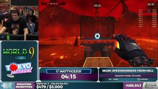 SEUM: Speedrunners From Hell by mattyice3131 in 17:51 - AGDQ 2017 - Part 84