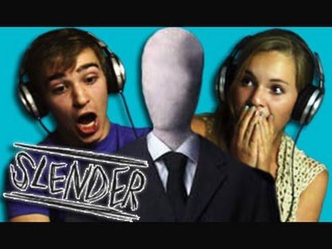 TEENS REACT TO SLENDER MAN