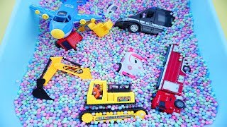 Cars for Kids,Review Toys and Learning Name and Sound Fire Truck,Police Car,Plane,Ambulance