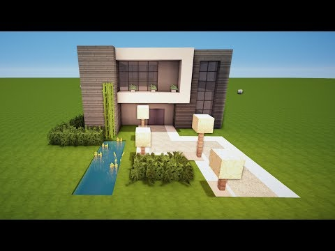 Papier haus bauen part 1 for Minecraft modernes haus tutorial