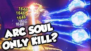 Arc Soul ONLY Calus Kill! [Destiny 2] Leviathan Raid Boss