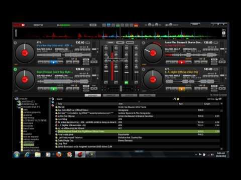atomix  virtual dj 7.0 with 4 and 6 decks