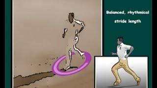 Cricket bowling tips - Run up stride