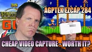 Cheap video and game capture - worth it? AGPTek EZCap 284 review