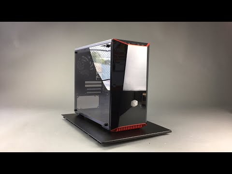 CHEAP BUDGET Cooler Master Masterbox Lite 3.1 MATX PC Case Reviews Overview