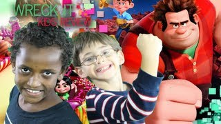 Wreck-It Ralph - Wreck it Ralph -  Movie Review Wrecked (Kids Still Learning English)