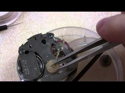 How I assemble a dollar pocket watch. Westclox Pocket Ben