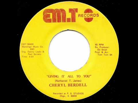 CHERYL BERDELL - Giving It All To You
