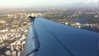 U.S Airways Airbus A321 Flight 954 FLL-PHL (FULL FLIGHT)
