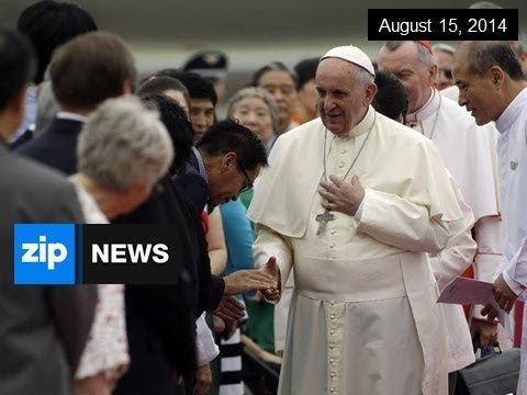 Rockets Fired As Pope Visits South Korea - August 15, 2014