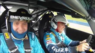 Rob Huff 2012 WTCC Champion Chevrolet Cruze hot lap