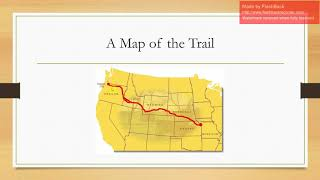 Travel the Oregon Trail Video