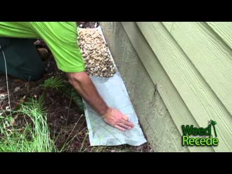 Easy To Install Rock Ecoboundary C Around House Using