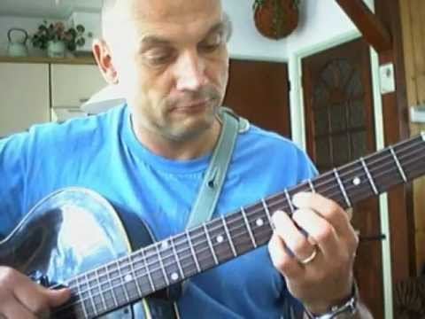 Blues Fingerstyle Walking Bass Comping tab