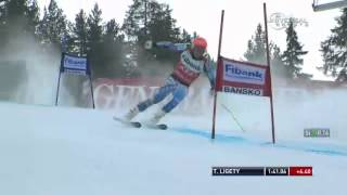 Ted Ligety All but Crashes out in GS Инструктор в Mayrhofen Ischgl