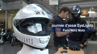 EyeLights : journée d'essai chez Paris Nord Moto !