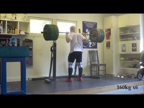 Milko Tokola pig squat training 25.7.2014 Image 1