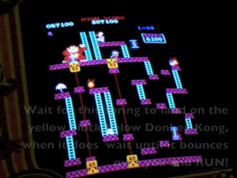 Donkey Kong Arcade 3rd Elevator Stage Walkthrough