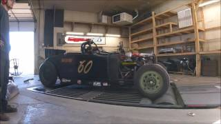 1928 Dodge Four Cylinder Flathead Dyno on Methanol - 240 RWHP @ 4850 RPM