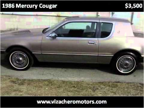 1986 Mercury Cougar Used Cars Wyandotte MI