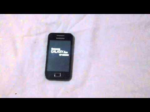 Samsung galaxy ace S5830 QUITAR CODIGO PATRON SEGURIDAD bloqueo master reset hard reset