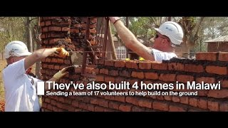 Tackling Poverty in Malawi: Building with Miller Homes (Charity Partner) | Documentary