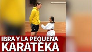 El nuevo vídeo viral de Ibrahimovic con esta karateka |Diario AS