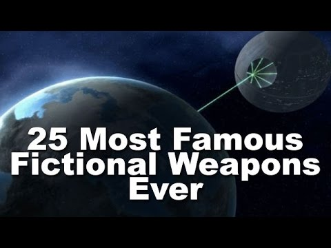 25 Most Famous Fictional Weapons Ever