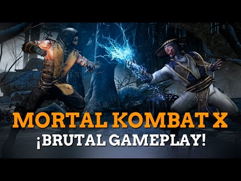 Gameplay de Mortal Kombat X
