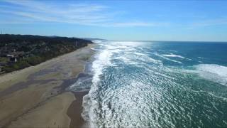 Oregon Coast lincoln city & newport - Drone