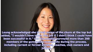 USA Gymnastics hires NBA executive Li Li Leung as new CEO
