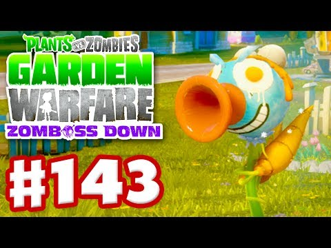 Plants vs. Zombies: Garden Warfare - Gameplay Walkthrough Part 143 - Customized Ice Pea (Xbox One)