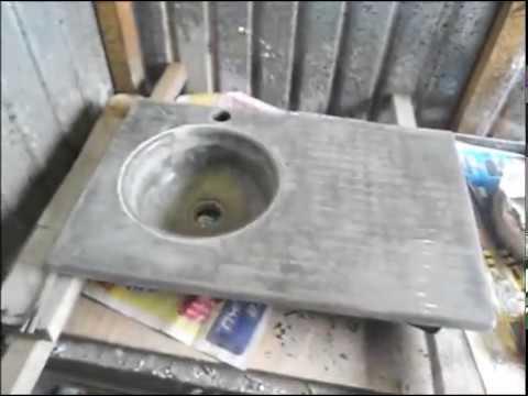 Мойка из бетона своими руками 29