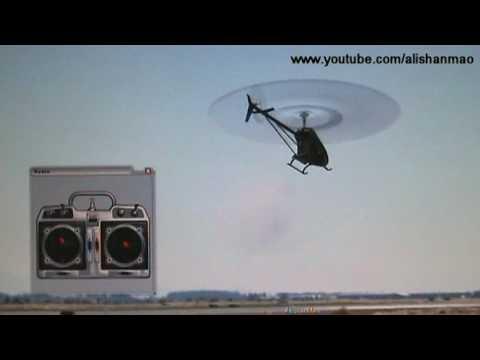 RC Flight Sim Practicing Piro Flips