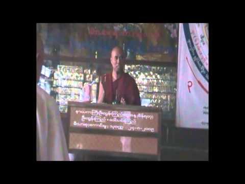 daily meditators in thuwanna theingi mogok yeiktha, thuwanna,yangon, 2010
