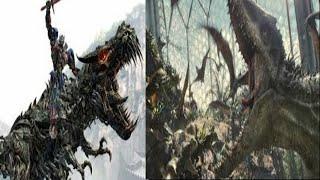 Grimlock w/ I-Rex Roars