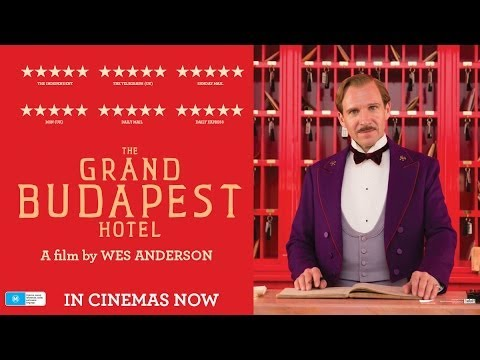 The Grand Budapest Hotel Trailer In Cinemas NOW