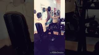 Seated Dumbell press - shoulder workout