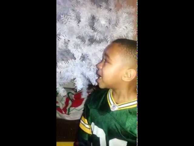 My 6 year old: A DEVASTATED Packers fan
