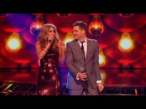 The X Factor 2009 - Stacey & Michael Buble: Feeling Good - Live Show 10 (itv.com/xfactor) Music Videos